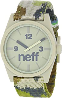 Neff - Daily Woven Watch In Camo