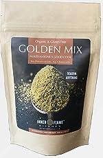 Organic South Indian Curry Powder - Golden Mix | Gluten FREE. Secret Indian Seasoning