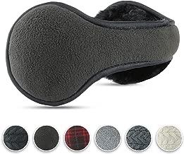 Luther Pike Seattle Ear Warmers For Men & Women: Adjustable Headband Warm Ear Muffs: Super Soft Winter Earmuffs