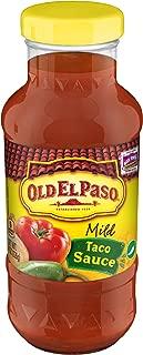 Old El Paso Mild Taco Sauce (Pack of 12)