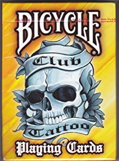 bicycle club tattoo cards