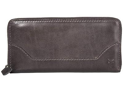 Frye Melissa Zip Wallet (Carbon) Wallet