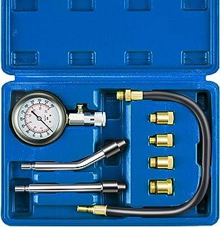Orion Motor Tech Compression Tester, 8PCS Cylinder Pressure Gauge for Gas Engine