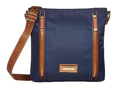 Calvin Klein Belfast Nylon Messenger (Navy) Handbags