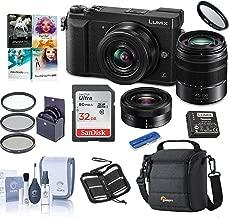 Panasonic Panasonic Lumix DMC-GX85 Mirrorless Camera with 12-32 & 45-150mm Lenses and Free Accessories Kit