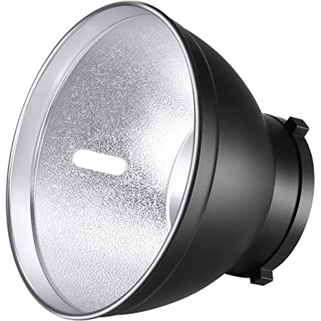 Neewer-18cm Plato de Sombra de Lámpara Difusor Reflector Estándar para Bowens Mount Estudio Flash Estroboscópico Speedlite Como Neewer Vision 4, Vision 5, DS300, SK300, SK400, S-300N, S-400N, NW600BM