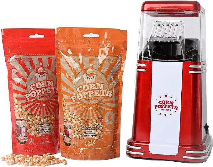 55 opinioni per CORN POPPETS | Macchina per Pop-Corn | Macchina per Pop-Corn Senza Olio, Senza