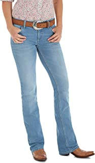Retro Mae Mid Rise Stretch Boot Cut Jean