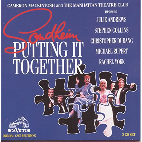 sondheim putting it together original off broadway cast recording