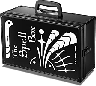 Game Card Storage Case (BBB/MTG Edition) | Suitable for Magic The Gathering, Yugioh, and Other TCG Etc (Game Not Included) | Includes 8 Dividers | Fits up to 2500 Loose Unsleeved Cards