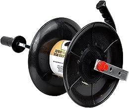 Zareba 145 Self-Insulated Wire Reel, Black