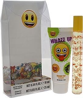 مجموعة هدايا صغيرة للأطفال من إيموجي واز أب من قطعتين من جل الاستحمام بعطر كرة الدوارة، عدد 2