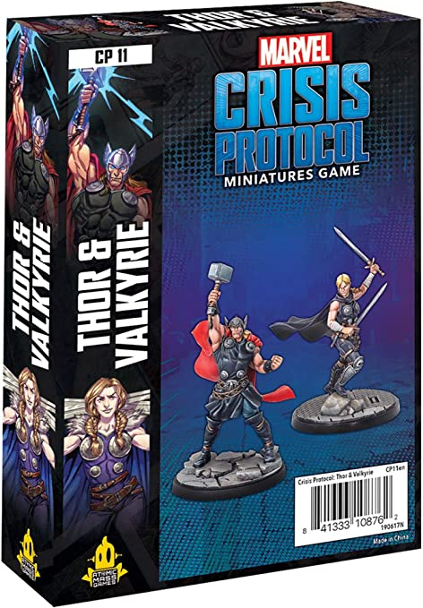 Marvel Crisis Protocol: Thor and Valkyrie : Toys & Games - Amazon.com