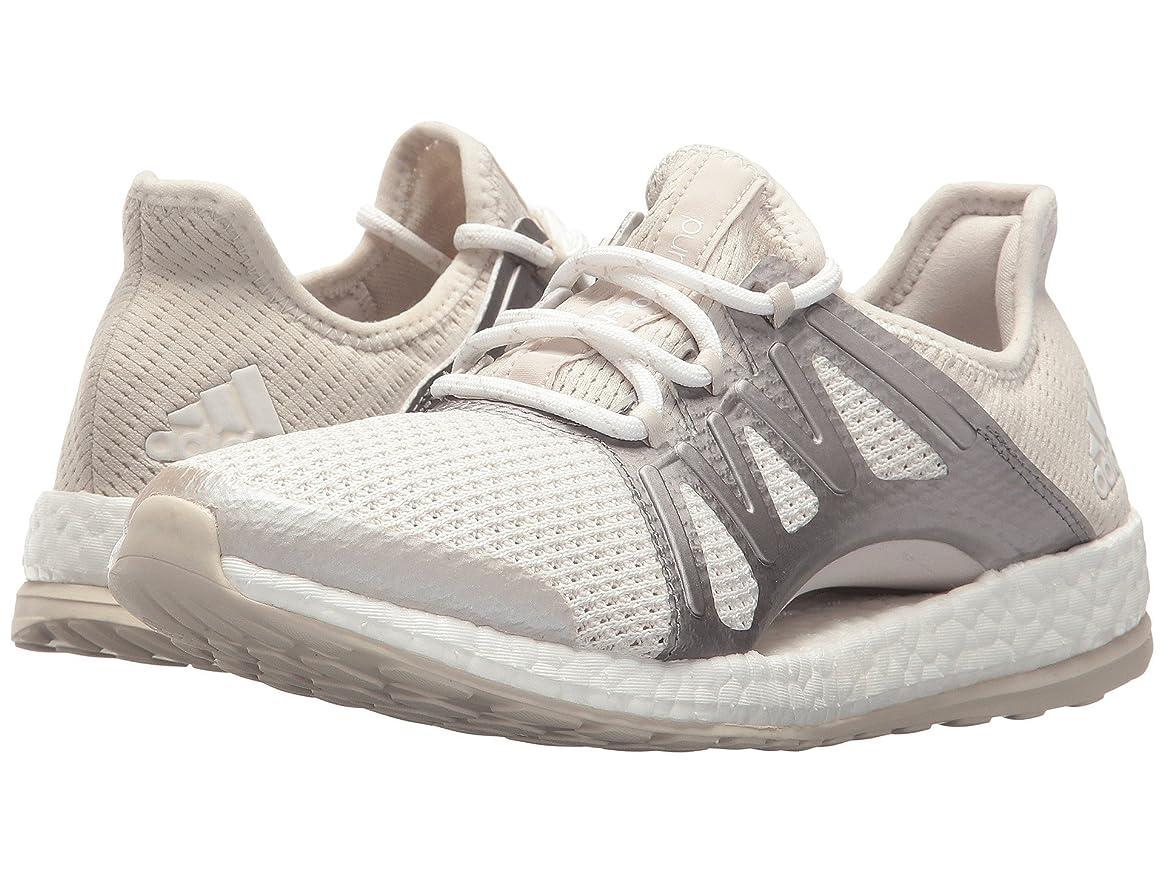 強化読みやすさどうしたの(アディダス) adidas レディースランニングシューズ?スニーカー?靴 PureBOOST Xpose Crystal White/Silver Metallic/Clear Brown 8 (25cm) B - Medium