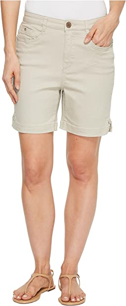 Sunset Hues Suzanne Shorts in Stone