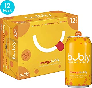 bubly Sparkling Water, Mango, 12 fl oz. cans, (12 Pack)