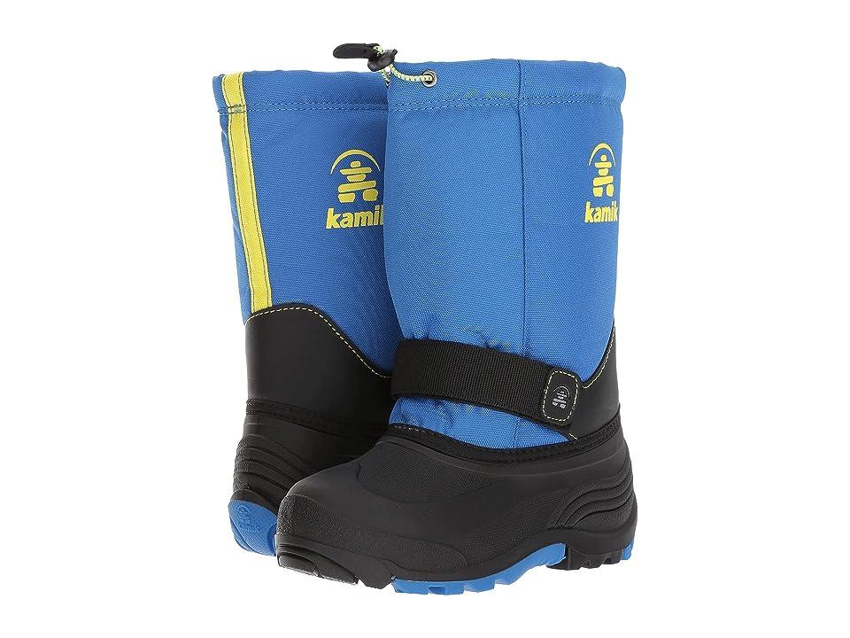 Kamik Kids Rocket Wide (Toddler/Little Kid/Big Kid) (Blue/Sulphur) Boys Shoes