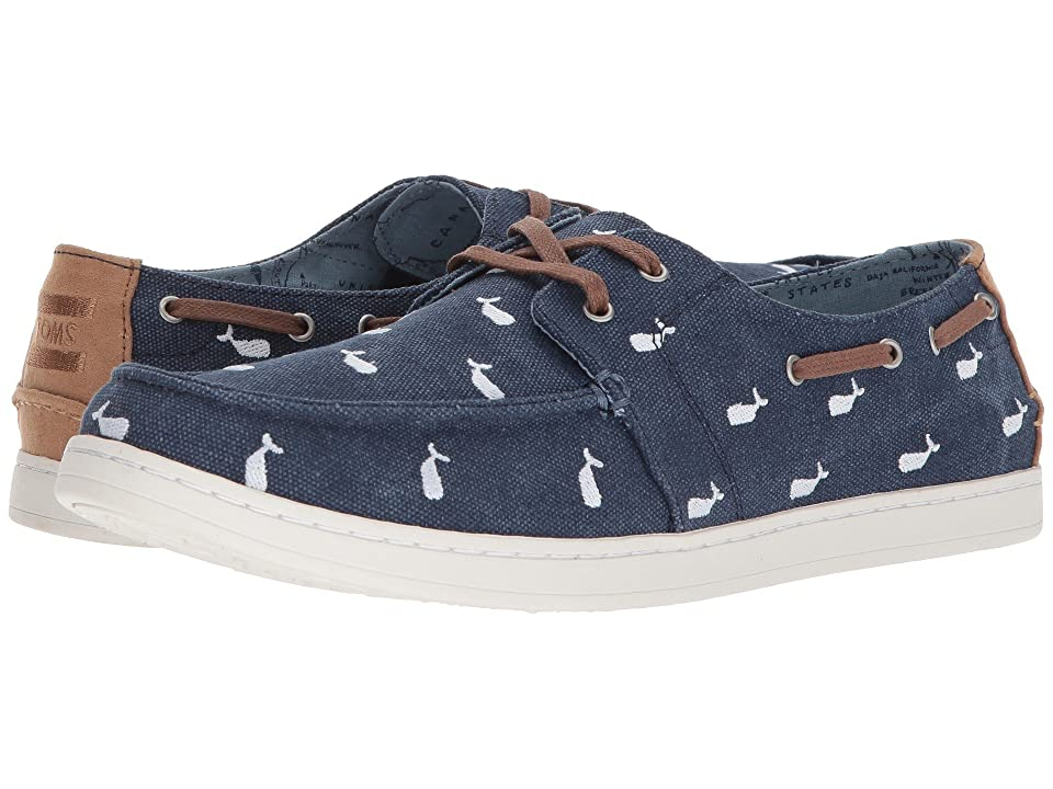 TOMS Oceana Lace-Up (Embroidered Whale) Men