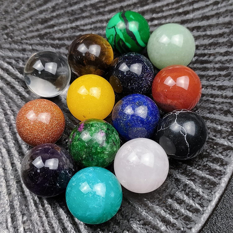YSJJVDS Crystal San Jose Mall 10PCS Set 16mm Stone Super beauty product restock quality top Healing Ene Natural