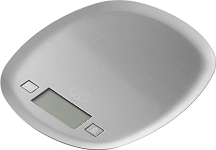 Dr.Oetker Scale Digital with Touchscreen, White, 22 x 8 cm
