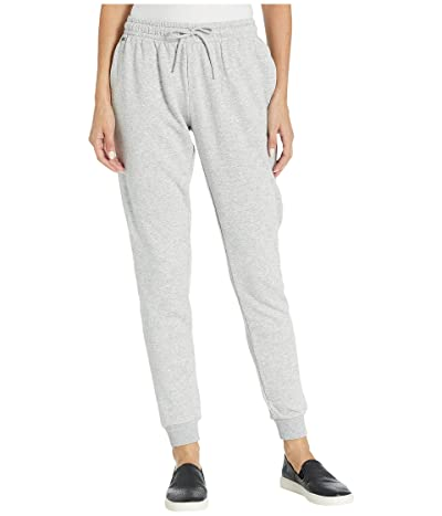 Lacoste Fleece Drawstring Sweatpants (Silver Chine) Women