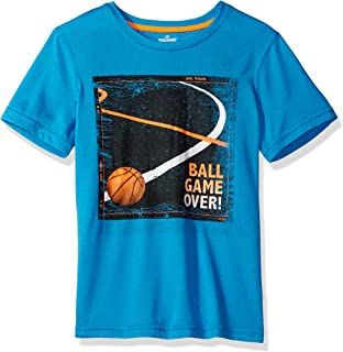 Spalding 男孩大核心性能圖形 T 恤