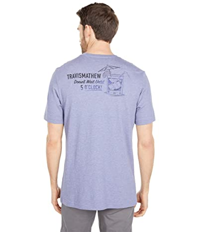 TravisMathew Night Swimming T-Shirt (Heather Skipper) Men