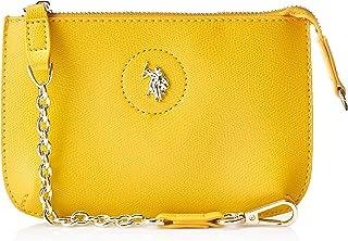يو اس بولو اسن حقيبة للنساء بلون اصفر - BEUJE0670WVP300