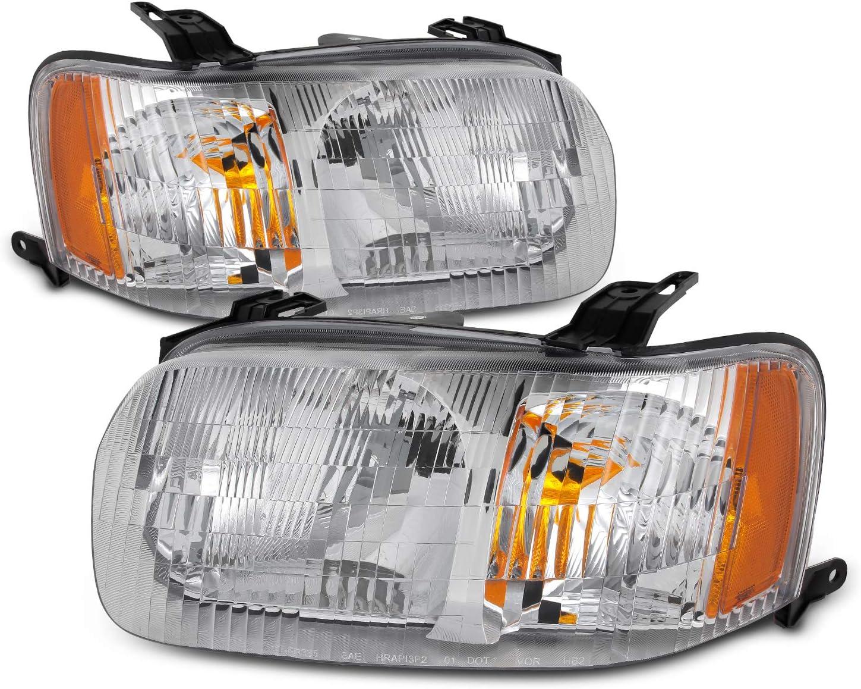 New Ford Escape 2001 2002 2003 2004 right passenger headlight head ...