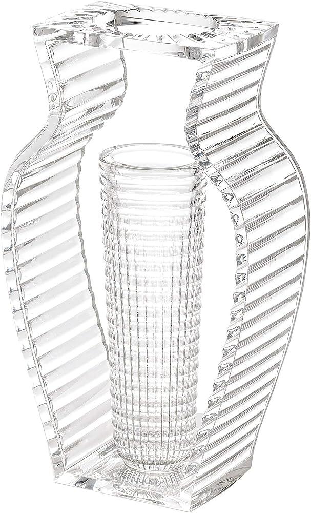 Kartell, i shine, vaso, trasparente 1215/B4