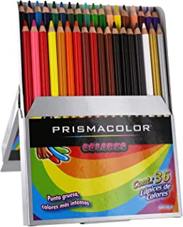 Prismacolor Colored Pencil Set, Assorted, 36-Count, Spanish Language