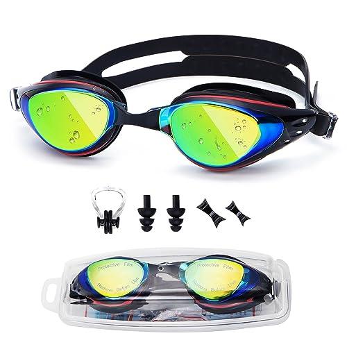 763b8220d4 UTOBEST Swimming Goggles Myopia Swim Goggles No Leaking Anti Fog UV  Protection Adjustable Straps Swimming Glasses
