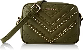 Trussardi Jeans Shoulder, Tokyo Camera Bag Embroided Eco Donna, NR