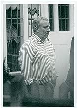 Vintage photo of Police: West Midlands Serious Crime Squad: John Perkins.