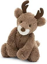 Jellycat Bashful Reindeer, Medium, 12 inches