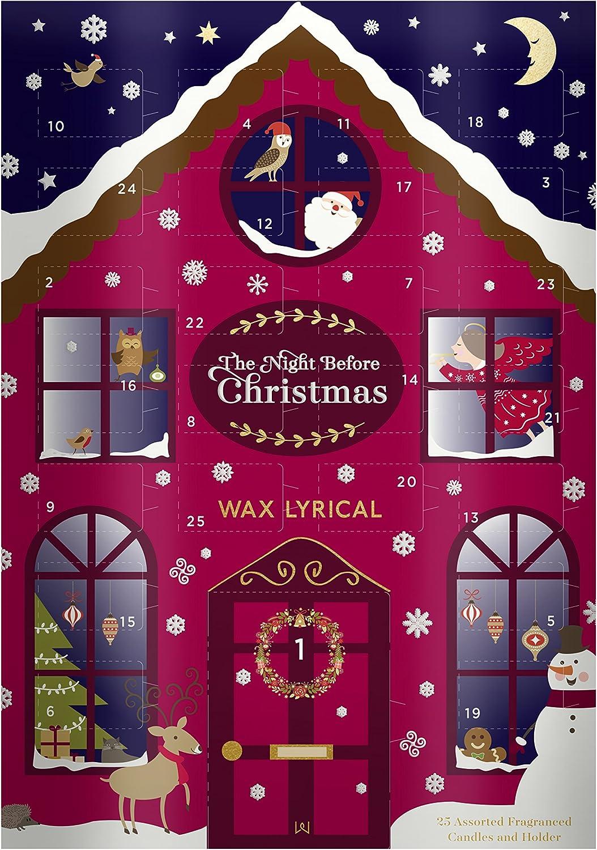 Wax Lyrical Nacht vor Weihnachten Advent Kalender, mehrfarbig, 32,5 x 23 x 5 cm B071DQWQ1M