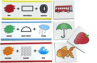 Clever Cubes Brain Bytes: Educational Games. Creative Fun Games. for Kids 3 to 6 Years. Activity Games. Boardgames for Kid...