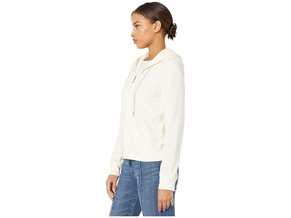 Juicy Couture Multi Sequin Juicy Ft Logo Track Robertson Jacket (Angel) Women's Coat