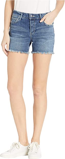 "Lotus 4"" Jean Shorts in Daphney"