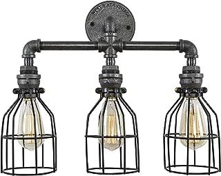 steampunk vanity light