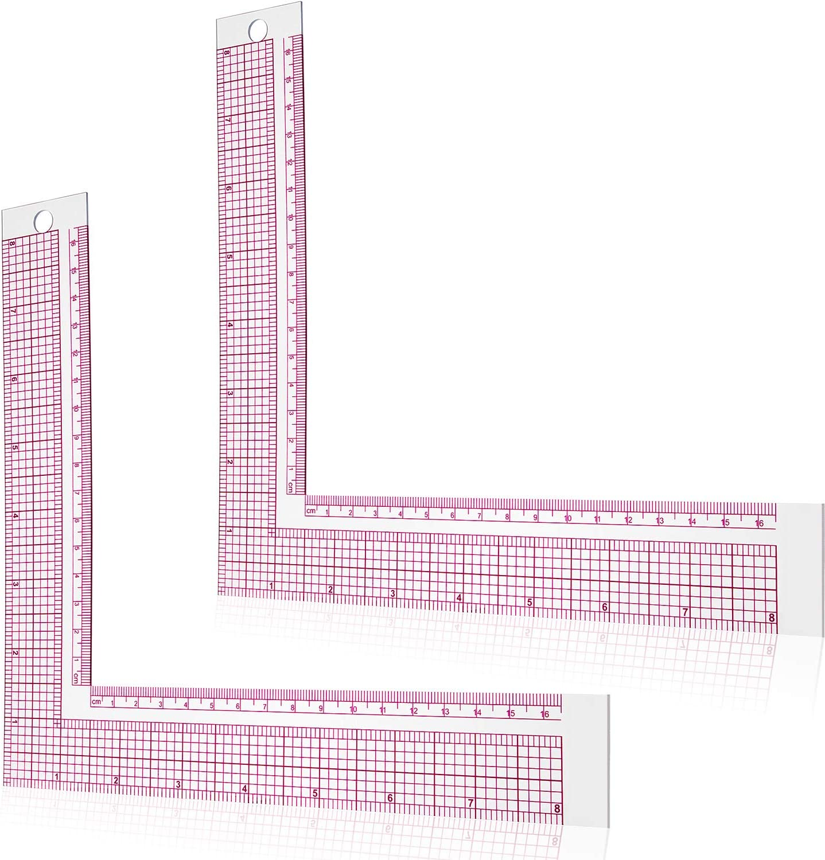 Max 70% OFF Plastic Sewing Ruler L-Square Measure Tailor Regular dealer Curve