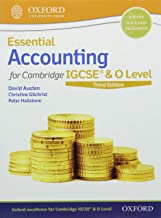 Essential Accounting for Cambridge IGCSE & O Level: Print & Online Student Book Pack