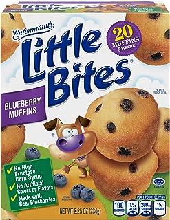Entenmann's Little Bites Blueberry Muffins, 5 Count