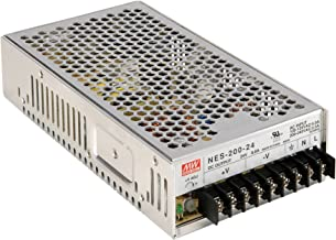 Enclosed Type 211.2W 24V 8.8A NES-200-24 Meanwell AC-DC Single Output NES-200 Series MEAN WELL Switching Power Supply