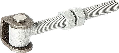 GAH-Alberts 418366 poortheng, met moeren, thermisch verzinkte oogbout, verbindingsbout en borgring van rvs, schroefdraad M16