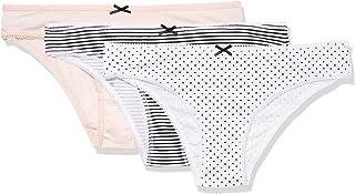 a5cf76a07e3 Amazon Brand - Iris & Lilly Women's Cotton Brazilian Underwear with Bow, ...