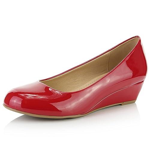 50520f0462daf Red Wedges Fashion Shoes: Amazon.com