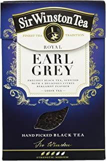 SIR WINSTON Royal Earl Grey, 4er Pack 4 x 100 g