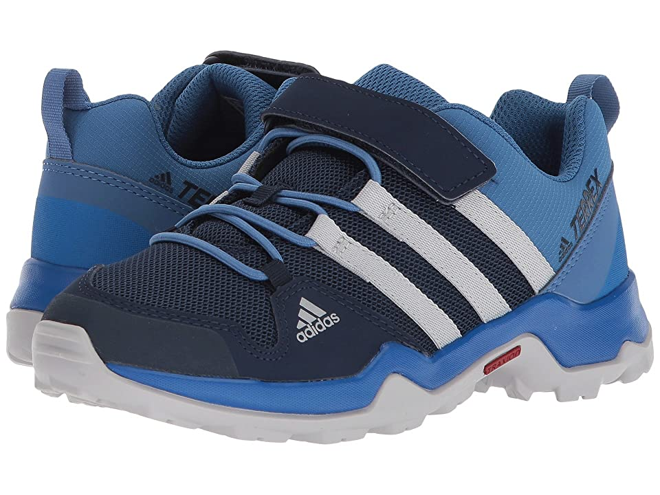 adidas Outdoor Kids Terrex AX2R CF (Little Kid/Big Kid) (Collegiate Navy/Grey Two/Grey Two) Boys Shoes