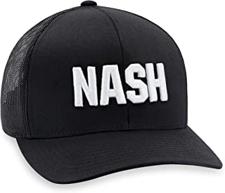 NASH Hat – Tennessee Trucker Hat Baseball Cap Snapback Golf Hat (Black)